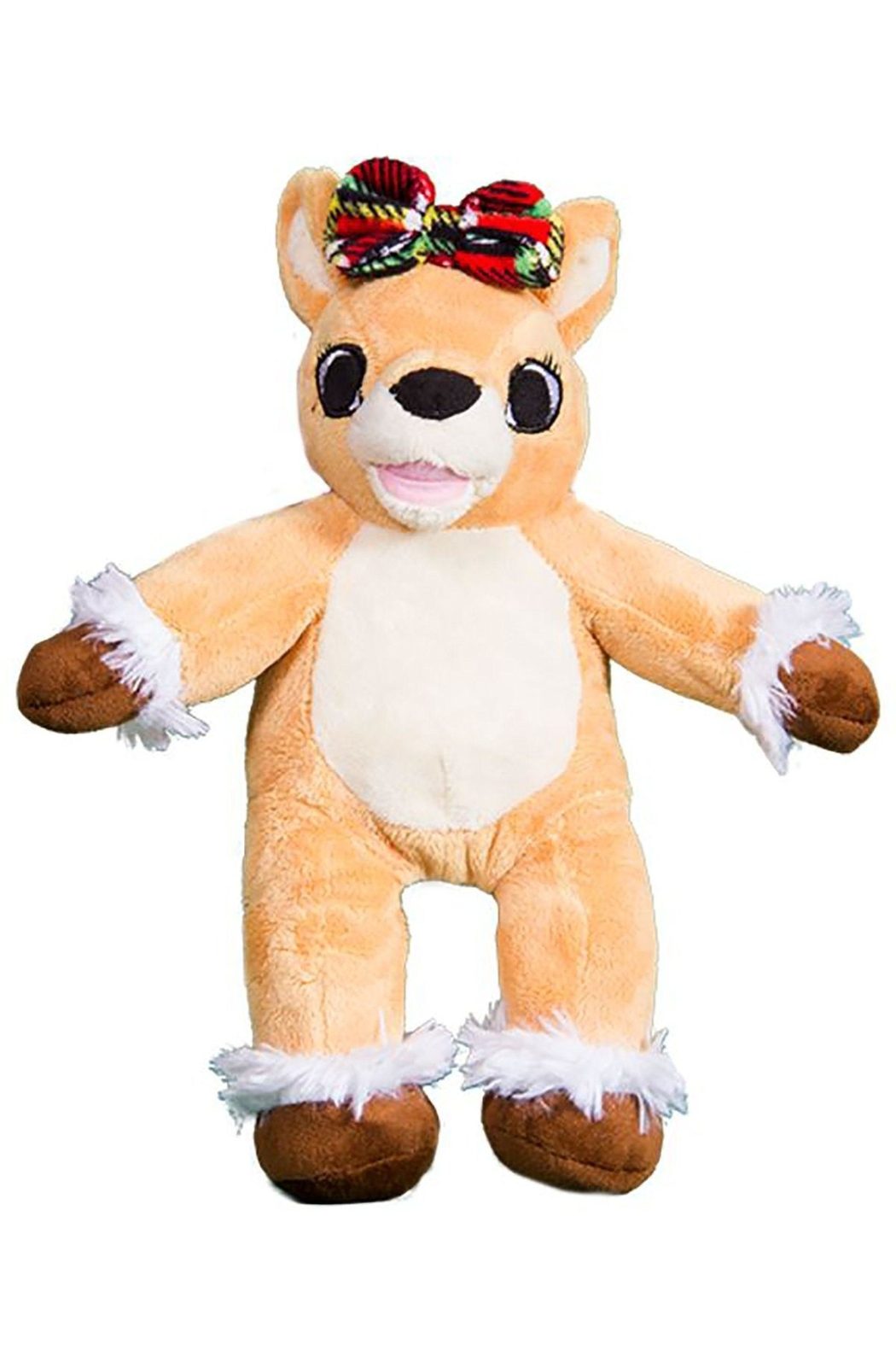 Teddy Mountain Male-Your-Own Olive the Reindeer Kit - Main Image
