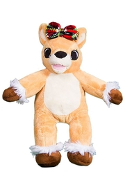 Teddy Mountain Olive The Reindeer - Front cropped