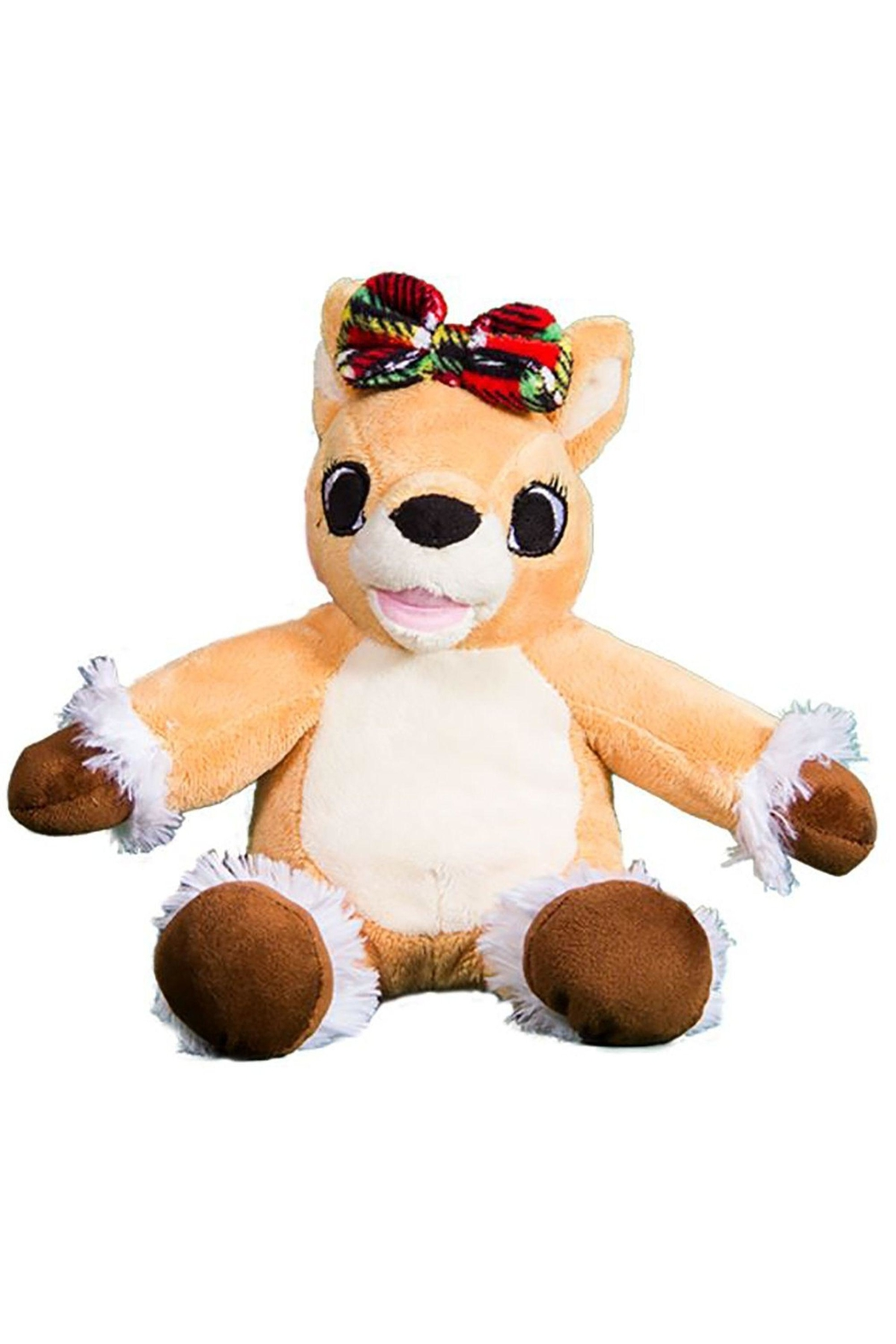Teddy Mountain Olive The Reindeer - Front Full Image