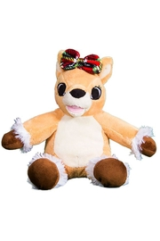 Teddy Mountain Olive The Reindeer - Front full body