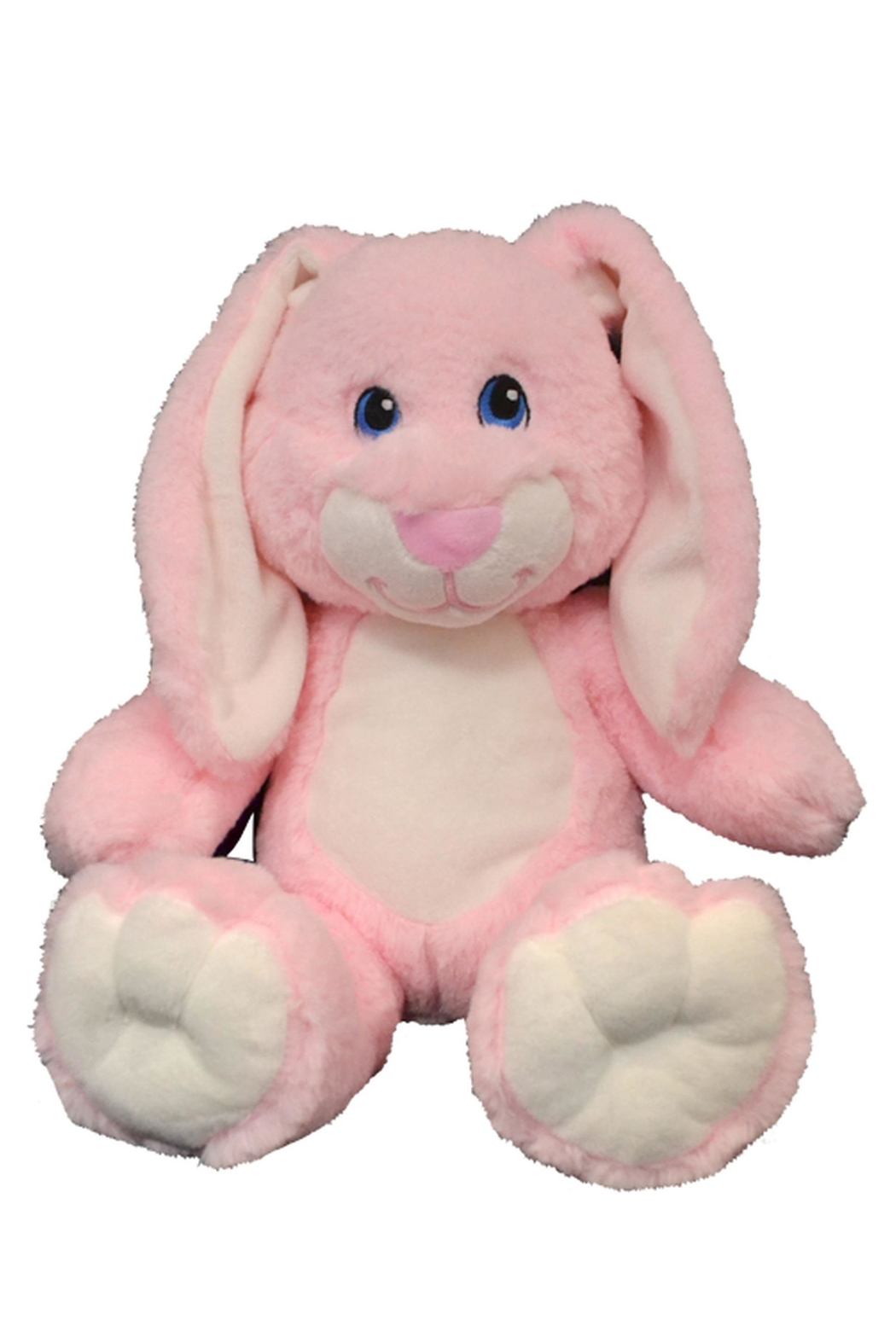 Teddy Mountain Pink Bunny - Front Full Image