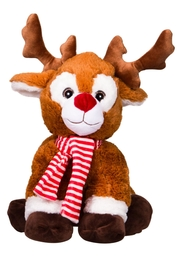 Teddy Mountain Randall The Reindeer - Front cropped