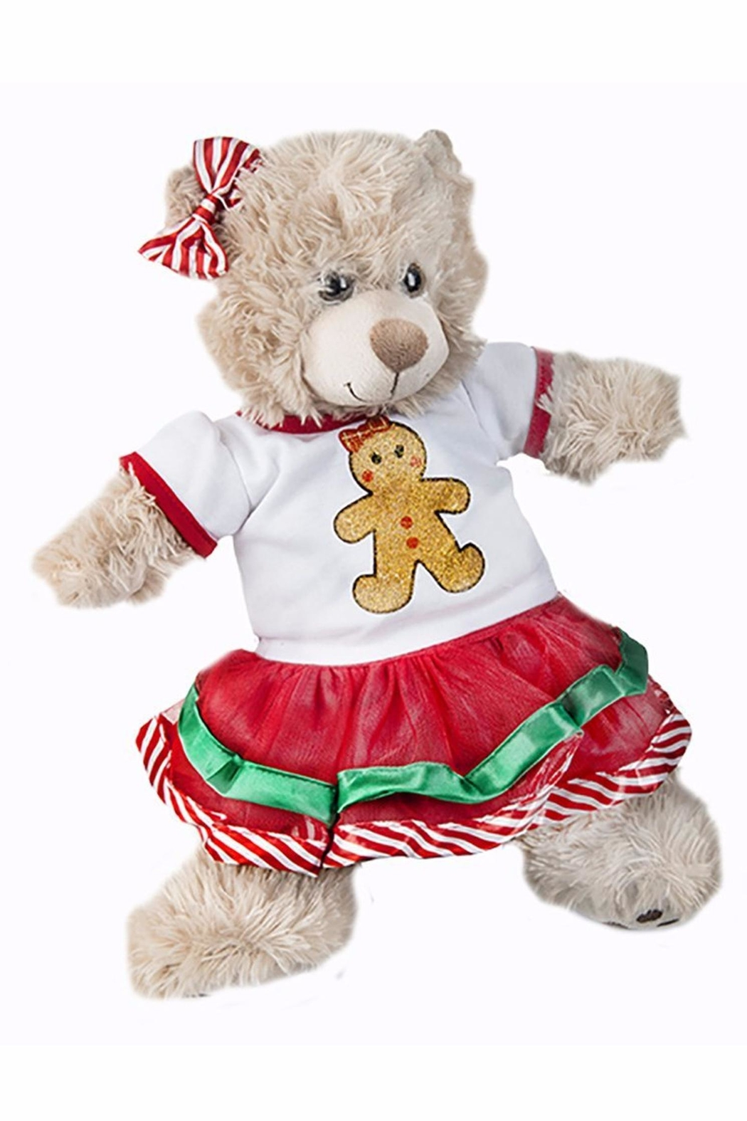 Teddy Mountain Teddy Gingerbread Girl - Front Cropped Image