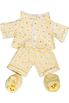 Shoptiques Product: Yellow Teddy Jammies