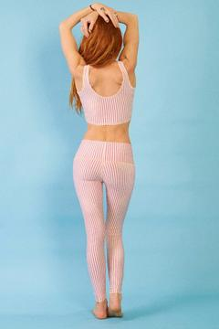 Teeki Candy Cane Legging - Alternate List Image