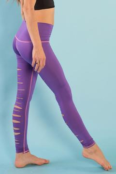 Teeki Janis Purple Legging - Alternate List Image