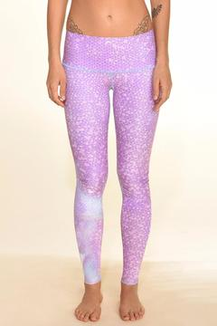 Teeki Mermaid Fairyqueen Lavendar Legging - Product List Image