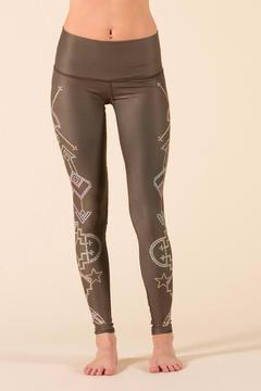 Teeki Seven Crowns Legging - Alternate List Image