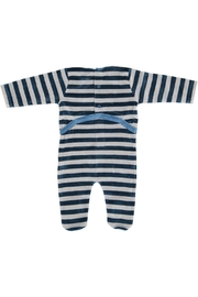 Pounds and Ounces Teelgrey Striped Stretchy - Front full body