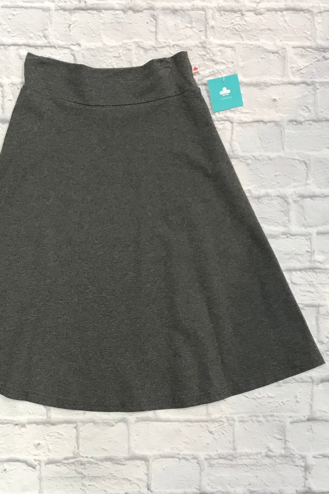 Three Bows Teen Camp Skirt - Front Cropped Image