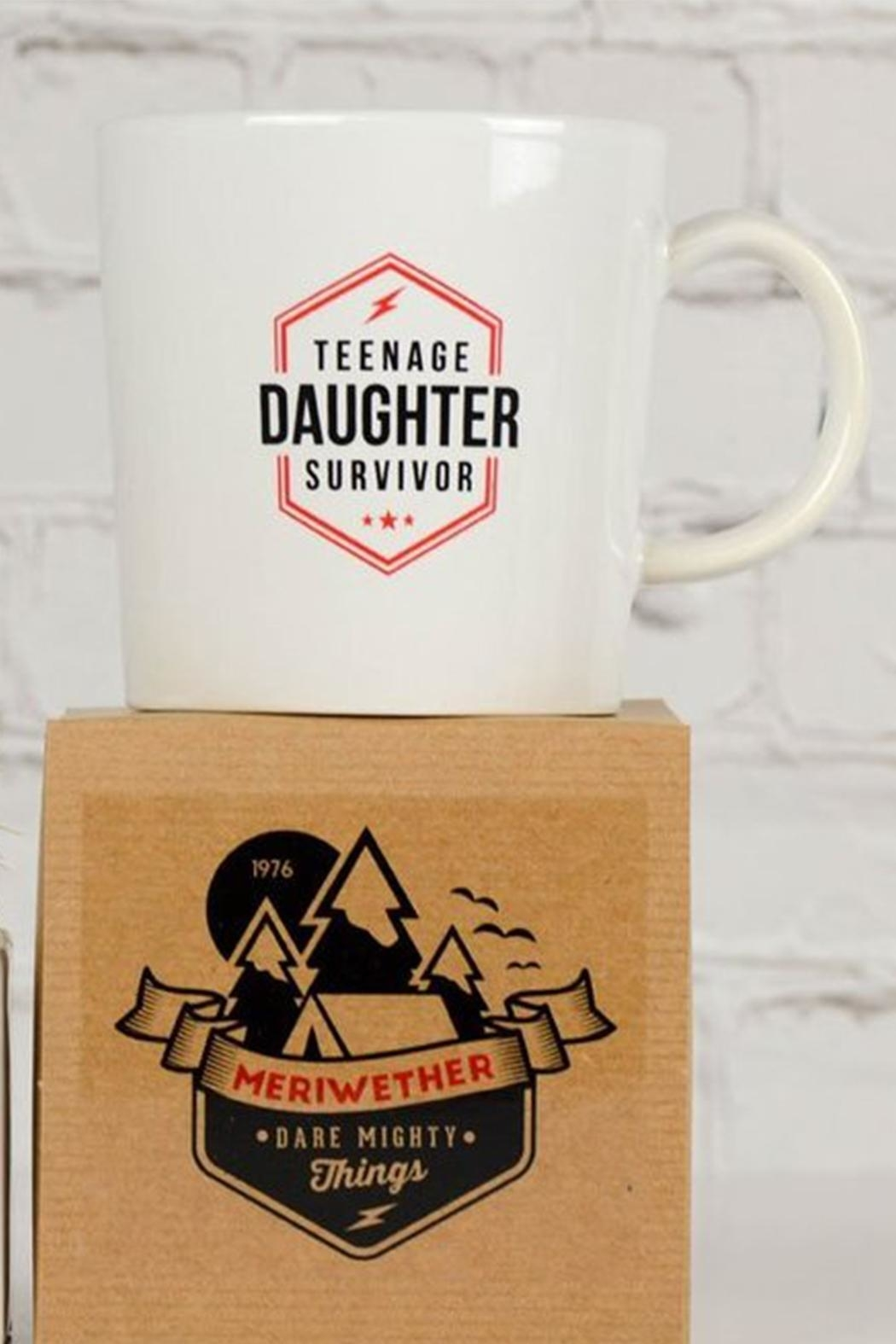 MERIWETHER Teenage Daughter Mug - Side Cropped Image