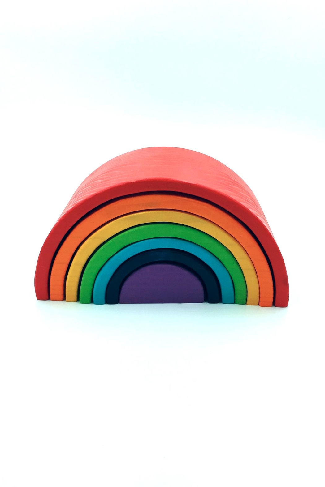 Teeny Weeny Toys Large Rainbow Stacker - Front Cropped Image
