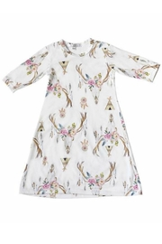 Bailey's Blossoms Teepee Skull Dress - Front cropped