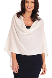 Tees by Tina Cashmere Poncho - Product Mini Image