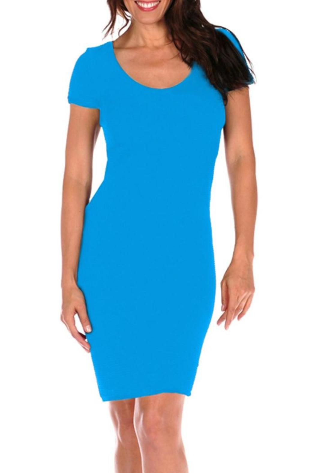 3c64d1a7bb51 Tees by Tina Textured Bandage Dress from Guilford by A's Unique Boutique