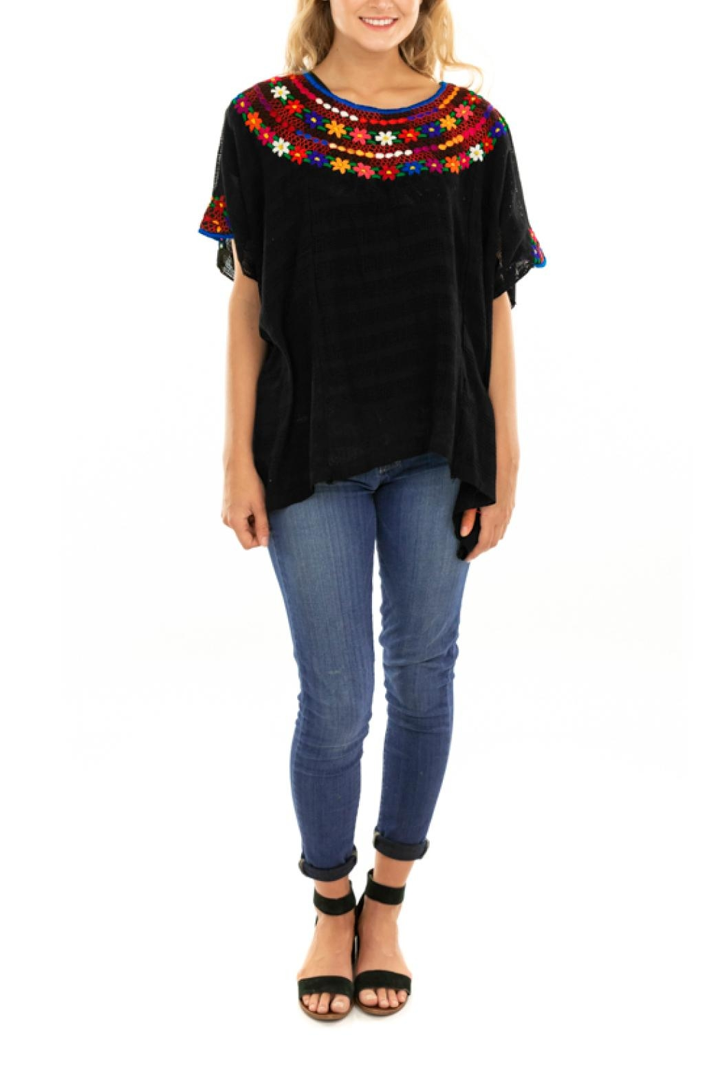 Nativa Tejido Blouse - Front Cropped Image