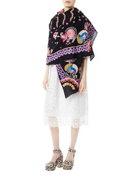 Shoptiques Product: Coloured Embroidery Shawl