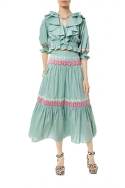 Temperley London Crafted Maxi Skirt - Product Mini Image