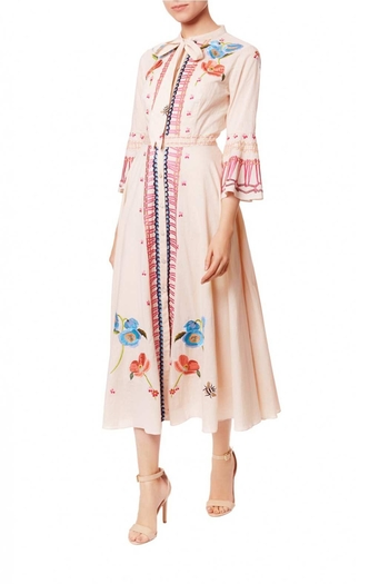 Temperley London Neck Tie Dress - Main Image