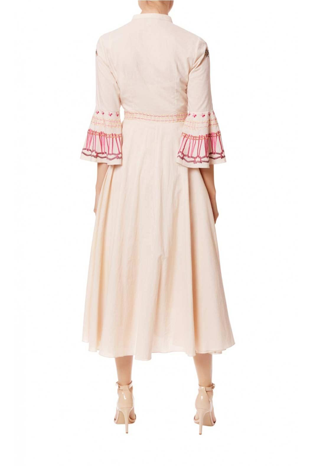 Temperley London Neck Tie Dress - Side Cropped Image