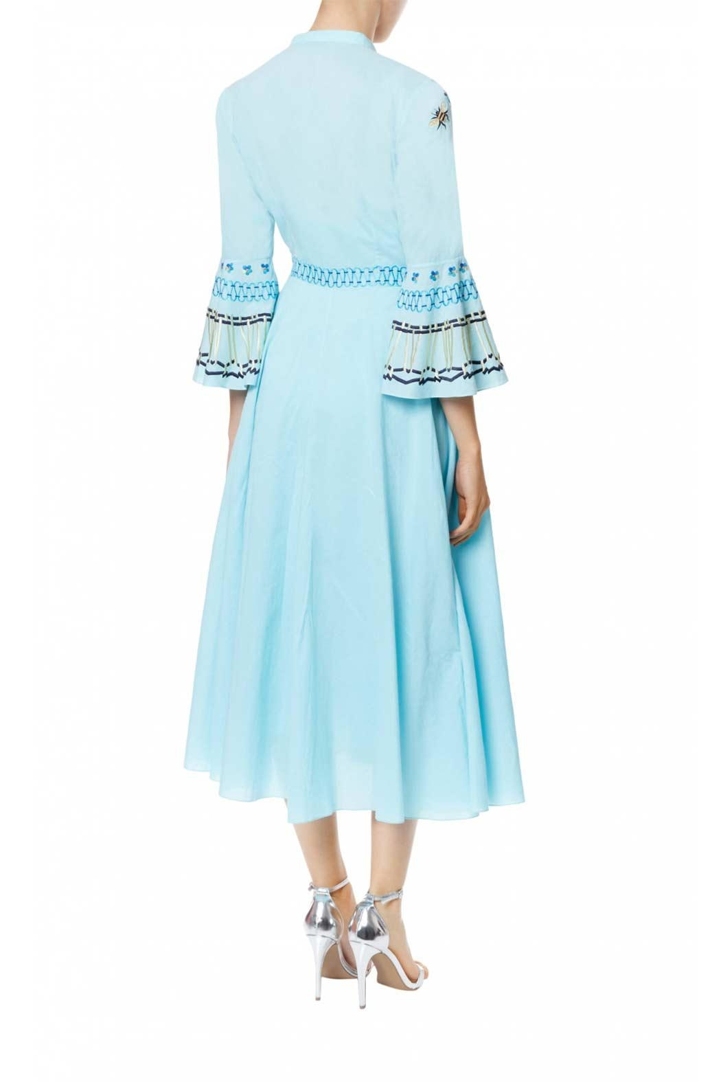 Temperley London Neck Tie Dress - Front Full Image