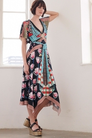Temperley London Short-Sleeve Arabesque Dress - Product Mini Image