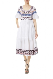 Temperley London Stitchwork Midi Dress - Product Mini Image