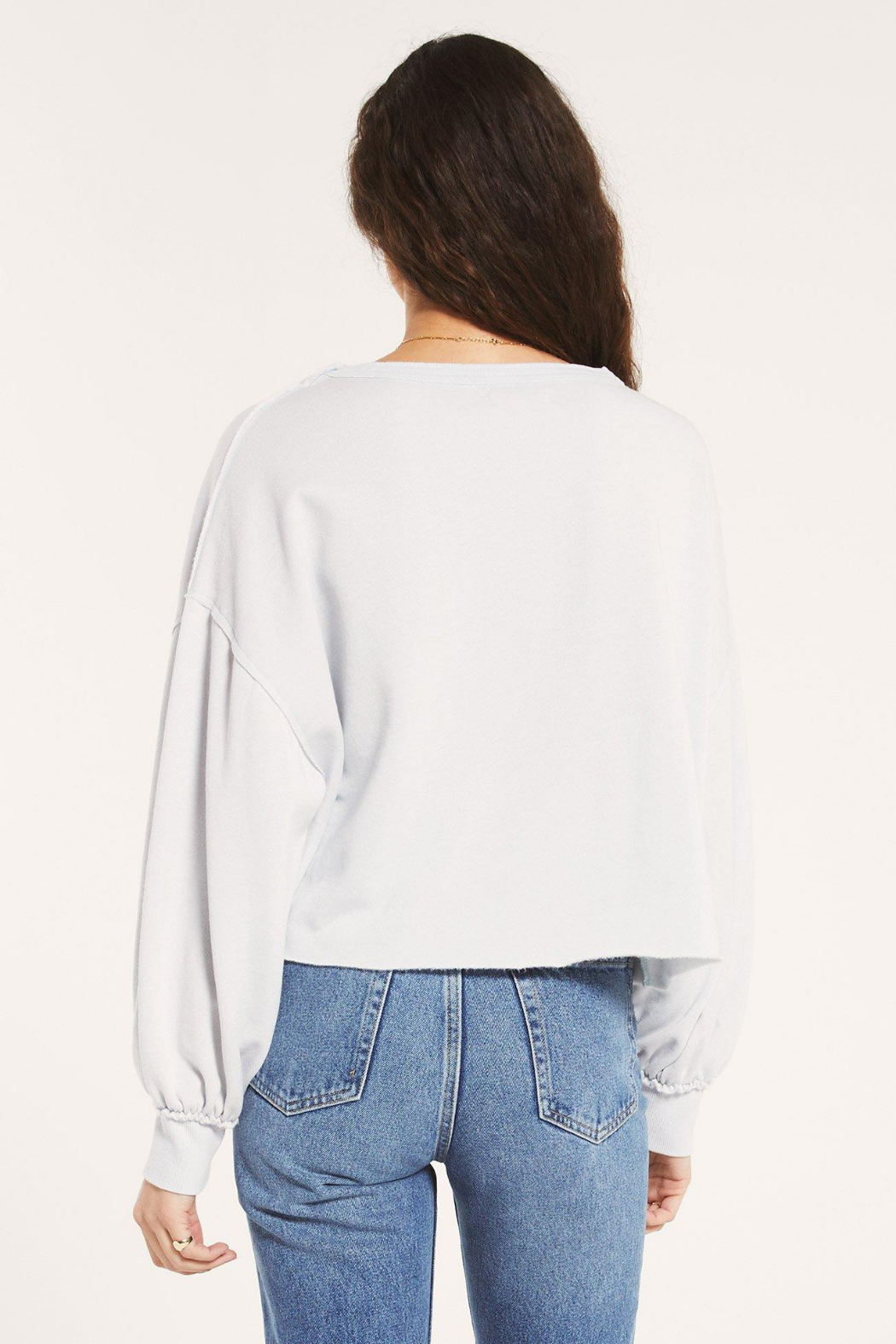 Z Supply  Tempest Cozy Sweatshirt - Side Cropped Image