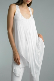 Tempo Paris Asymmetrical Tunic Dress - Product Mini Image