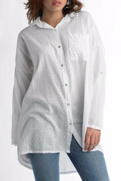Shoptiques Product: Cotton Sequin Shirt