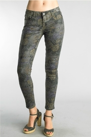Tempo Paris Floral Abstract Pant - Product Mini Image