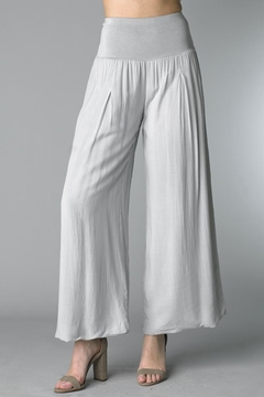 Shoptiques Product: Grey Palazzo Pants