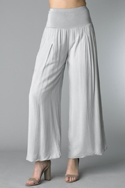Tempo Paris Grey Palazzo Pants - Product Mini Image