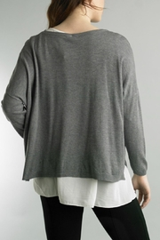 Tempo Paris Hi-Low Sweater - Front full body