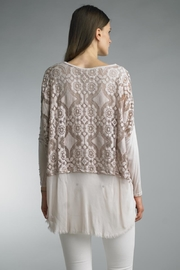 Tempo Paris Lace High-Lo Top - Front full body