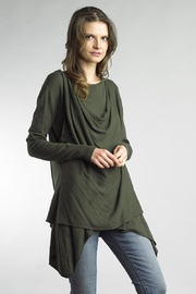 Tempo Paris Layered Cowl Sweater - Product Mini Image