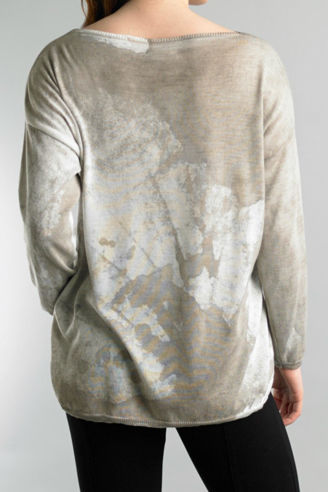 Tempo Paris Lightweight High Low Sweater - Front Full Image