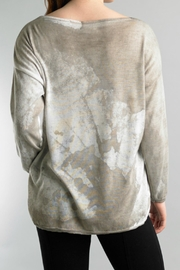 Tempo Paris Lightweight High Low Sweater - Front full body