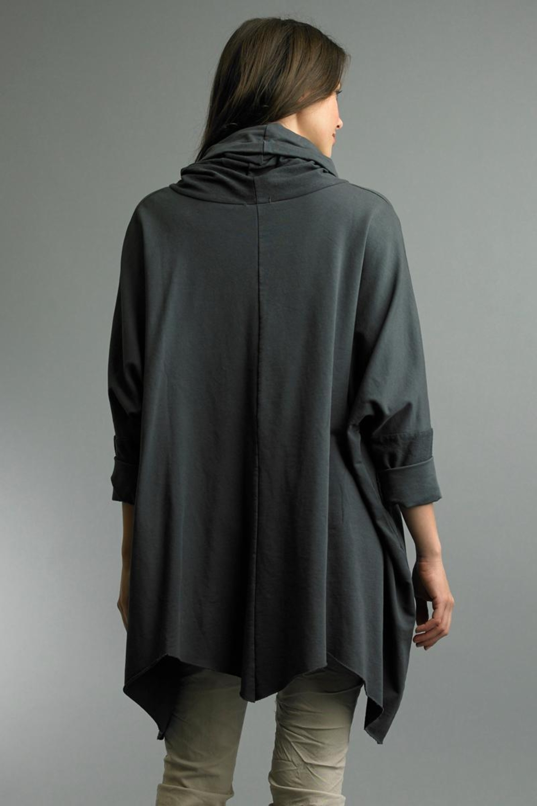 Tempo Paris One Size Poncho - Front Full Image