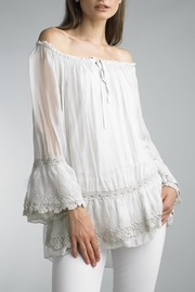 Tempo Paris Perra Lace Top - Product Mini Image