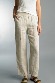 Tempo Paris Pull-On Linen Pant - Product Mini Image