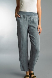 Tempo Paris Pull-On Linen Pant - Front cropped