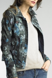 Tempo Paris Reversible Denim Jacket - Product Mini Image