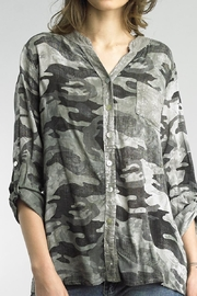 Tempo Paris Sequin Camo Shirt - Product Mini Image