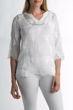 Shoptiques Product: Sequin Pocket Shirt