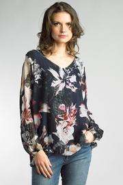 Tempo Paris Silk Chiffon Blouse - Front cropped