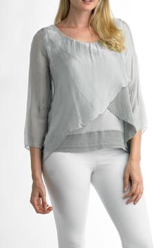 Shoptiques Product: Silk Overlay Top