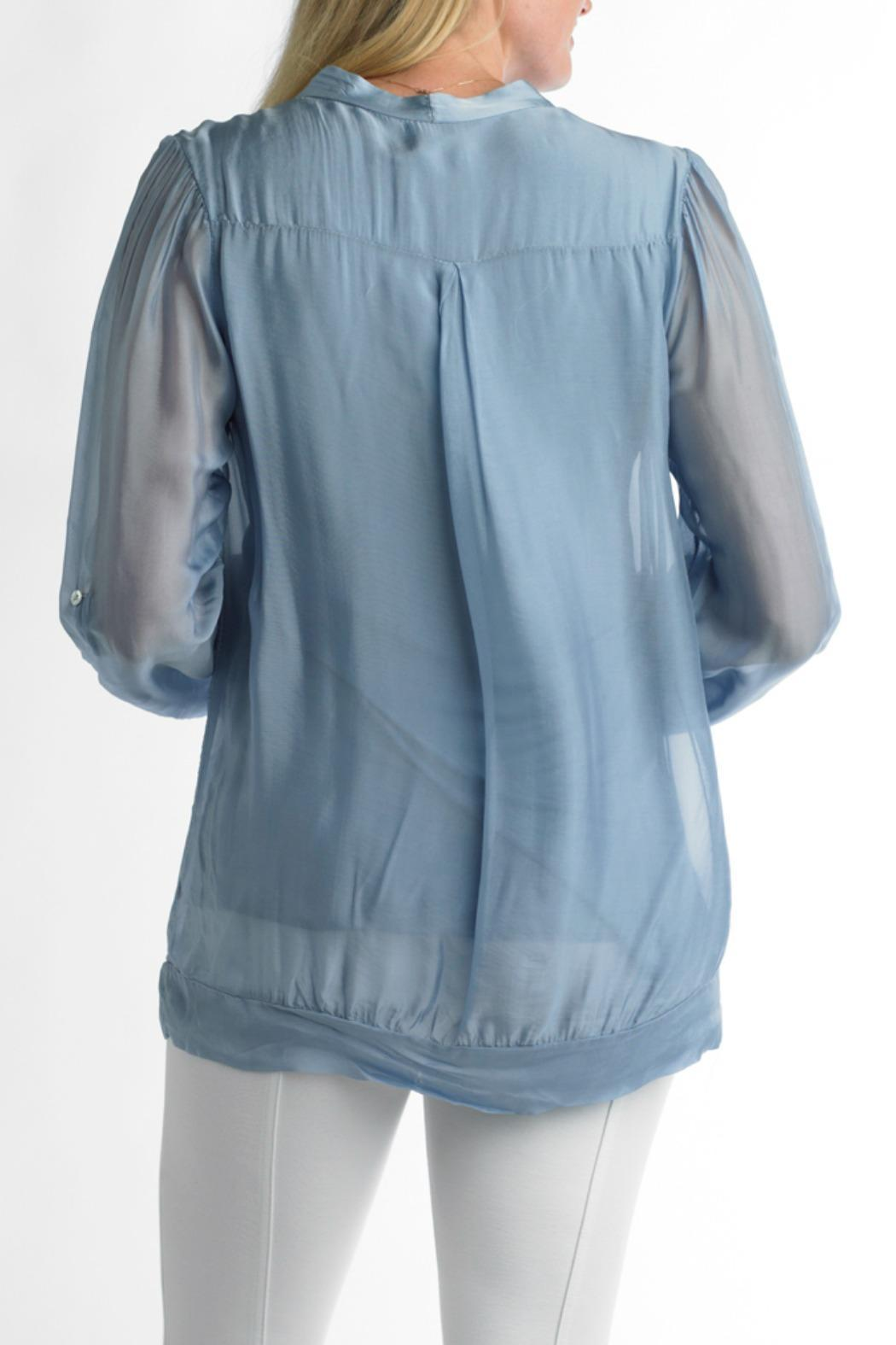 Tempo Paris Silk Top Lined - Front Full Image