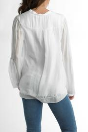 Tempo Paris Silk Top Lined - Front full body