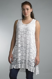 Tempo Paris Sleeveless Lace Tunic - Product Mini Image